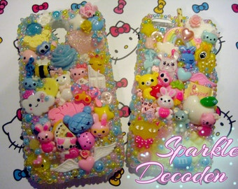Pastel Pearl Decora cases - Galaxy S4 and iPhone 5