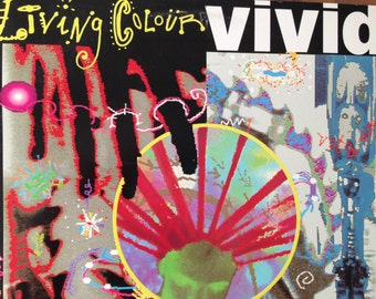 Living Colour - Vivid - vinyl record