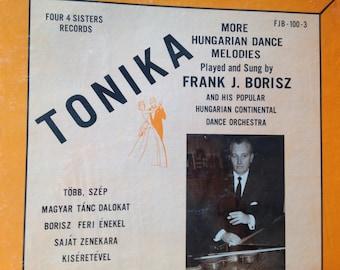 Frank J. Borisz - Tonika - vinyl record