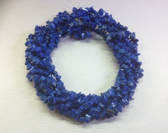 Natural Blue Lapis Chips Beads (Freeform) - Order per String, 40cm, around 150 pieces