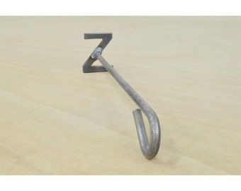 Letter Z Branding Iron, Steak Brand, Wood Burning, Western - 11292