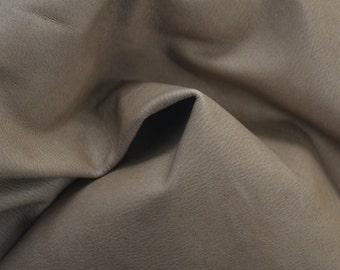 "Light Brown Leather Cow Hide 8"" x 10"" Pre-cut 1 1/2 ounces flat grain TA-25526 (Sec. 4,Shelf 6,B)"
