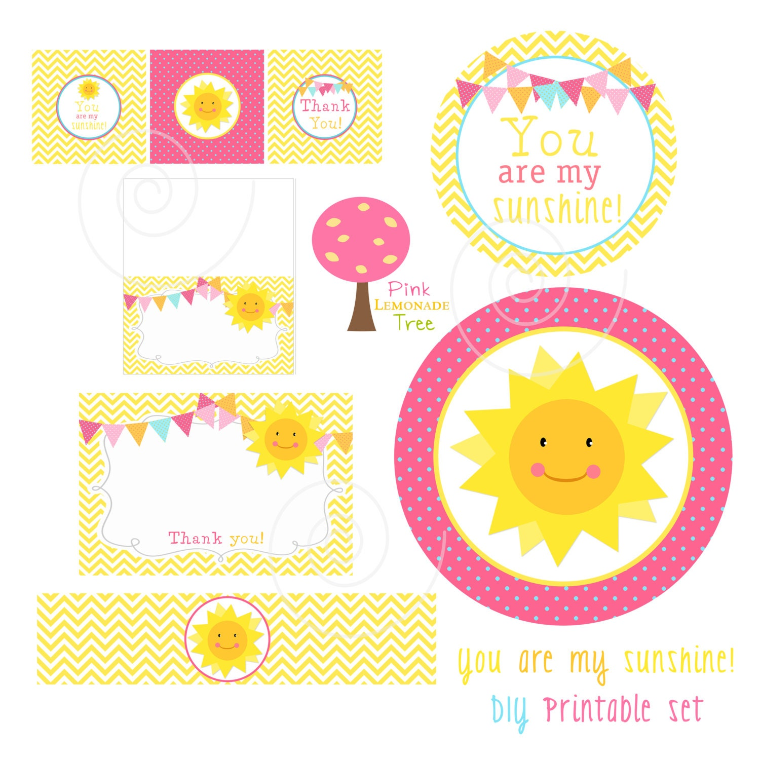 you are my sunshine decorations baby shower birthday party