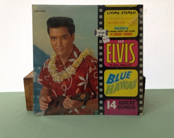 RCA Victor Elvis Blue Hawaii Record