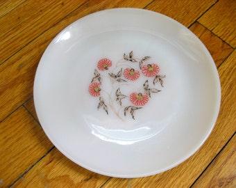 Anchor Hocking Fleurette Salad Plate