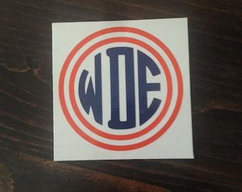 Auburn Inspired War Eagle Vinyl Decal