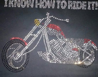 I know how to ride it