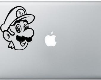 Luigi Laptop Decal