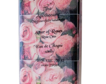 ATTAR OF ROSES Perfume, Very Carefully Hand Made by The Apothecaryl