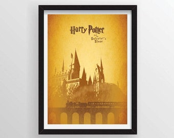 8.5 x 11 Harry Potter and the Sorcerer's (Philosopher's) Stone Poster