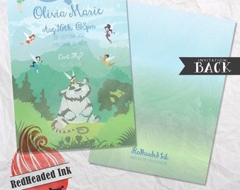 Disney Fairies TinkerBell Legend of the Neverbeast Birthday Invitation