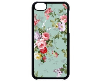 Floral Flowers Beautiful Art Fancy Roses for iPhone 4 4s 5 5s  5C 6 6s 6 Plus 7 7 Plus iPod Touch 4 5 6 case Cover