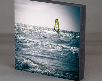 Mark square - windsurfer