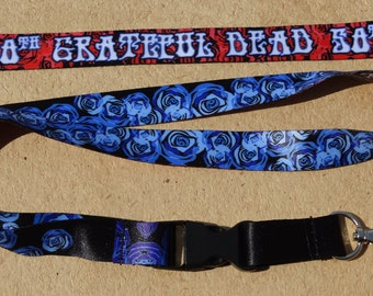 The Grateful Dead 50th Anniversary Lanyard