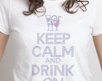 Keep Calm And Drink On Women's Clothing
