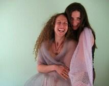 custom order bridesmaid wraps, mohair, silk