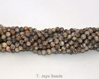 Fossil Crinoid Beads - 6mm