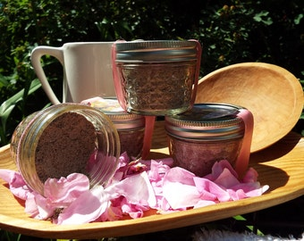 Soothing Herbal Facial Scrub with Rose