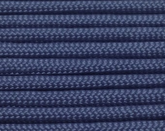 550 Paracord 100ft Navy Blue Type III Commercial 7 Strand Nylon USA Made Parachute Cord Free Shipping - Great for paracord bracelets lanyard