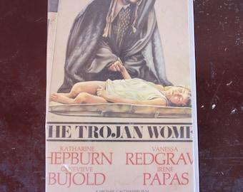 The Trojan Women vintage 70's vhs drama movie