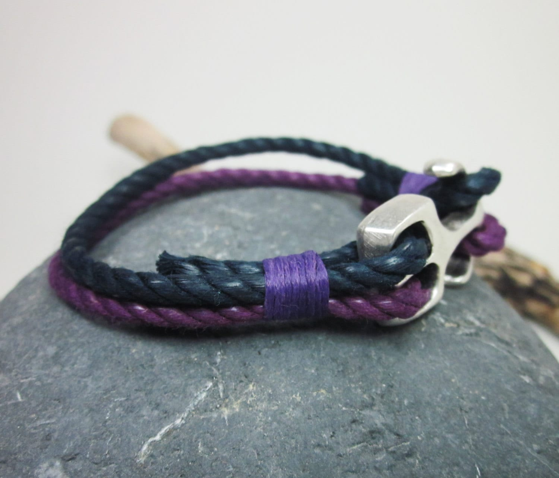 herren armband nautische armband anker armband von. Black Bedroom Furniture Sets. Home Design Ideas
