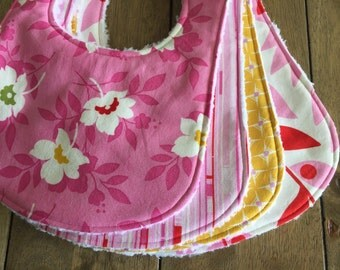 4 pc Aloha Spirit Bib Set