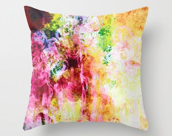 Throw Pillow Cover Abstract Colorful Modern Home Decor  Cushion Cover Decorative Pillow Cover Accent Pillow Cover Sofa Pillow Cover