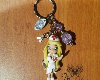 Necklace Chibi Doll Nurse 2