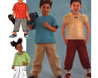 Butterick Sewing Pattern 3905 Children's Top, Pants  Size:  2-3-4-5  Uncut