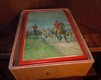 1950s Stan Lite Red Plastic Folding Travel Shaving Kit NOS in original box
