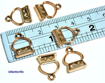 """Lot of 24pcs Double Sided """"Handbag"""" Gold Color Plated Metal Charms. #SW2605."""