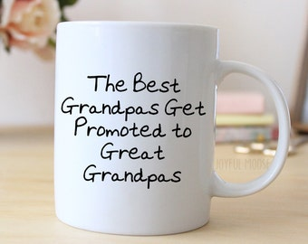 Great Grandpa Coffee Mug - Pregnancy Announcement Gift - Great Grandfather Coffee Mug
