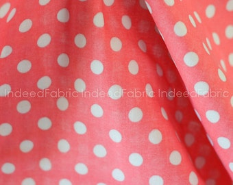 20% Off // DOUBLE GAUZE- Dotted Gray on Pink Double Gauze, Color Basic Double Gauze Collection, Lecien Japan, By the Half-Yard
