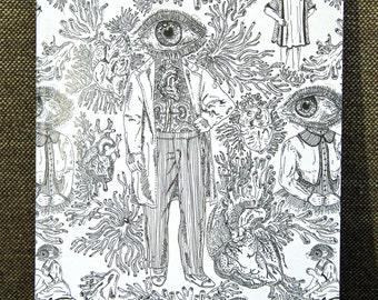 Eye People A5 Notebook