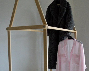 Handmade Clothes Rail, Clothes Rack,Perfect for Shops,Intriguing Interior Design