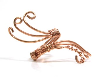 Adjustable Wire Wrapped Statement Ring
