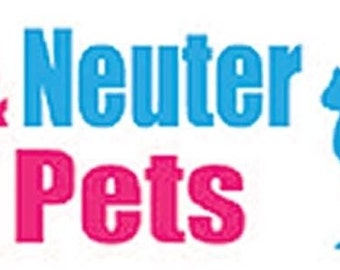 Please Spay And Neuter Your Pets Funny High Quality BUMPER STICKER STI-0473