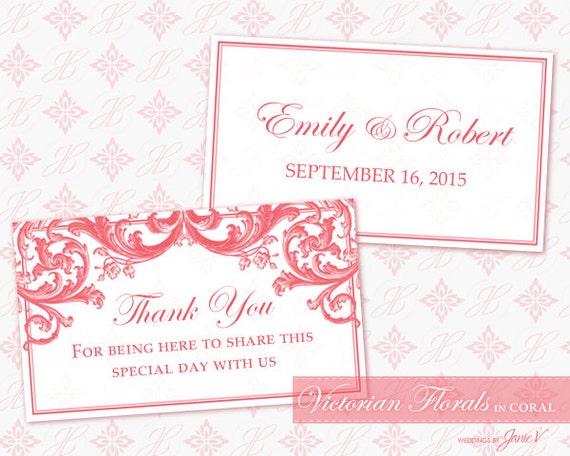 Diy Wedding Favor Tags Templates : DIY Printable Wedding Favor Tag Template Printable Favor Tag ...