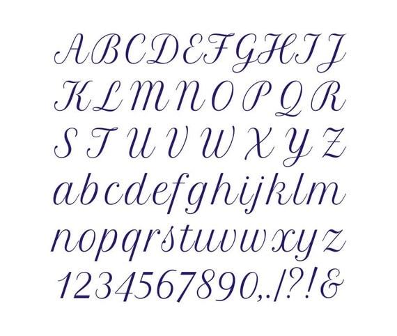 alphabet cross stitch pattern 25 sts tall font by evascreation