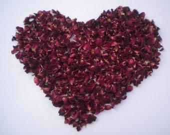 10 Litres confetti petals, 100% bio degradable natural Rose petals,  for filling wedding confetti  cones, throwing at weddings, parties,