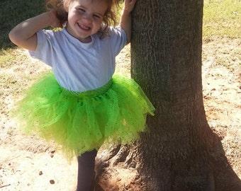 Apple Green Polka Dot Tutu