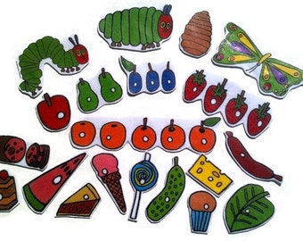 Very Hungry Caterpillar Felt, flannel board story, felt board story, homeschool, early childhood, imaginative, quiet, montessori, preschool