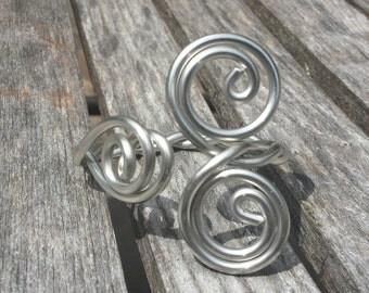 Silver Jewelry/Silver Bracelet Cuff/Flexible and Lightweight/Silver Solder Bracelet/Designed by LydiaZ/Unique Bracelet Cuff/Boho/Hippie