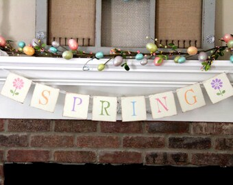 Easter Banner• Easter Decoration• Spring Banner • Spring Garland • Spring Decoration