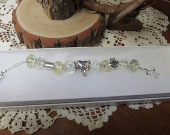 BRACELET for  NEW MOM      charm bracelet        Mothers Day gift    Childrens Gift to Mom