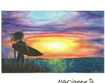 Surf Sunrise