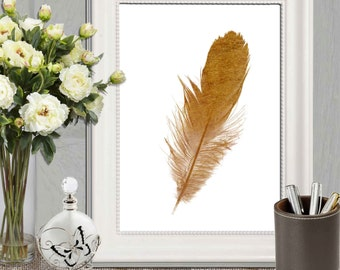 Gold home decor Etsy