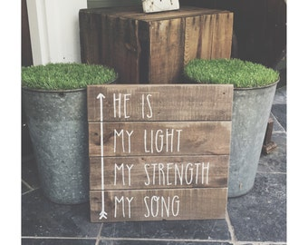 In Christ Alone sign