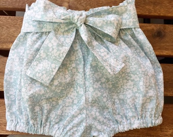 Girl's Bubble Bloomers, Forget Me Not In Succulent