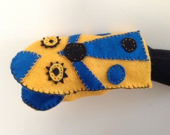 Handmade Hand Puppet for Young Children